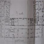 План приміщень ІІІ поверху (рентген)